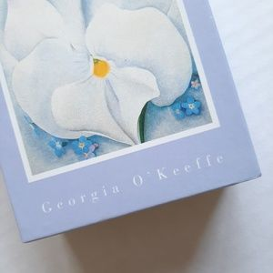 Georgia O'Keeffe Office - Georgia O'Keeffe White Pansy Notecards set of 20